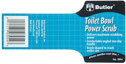 Custom Bath Products Label by Apogee Industries